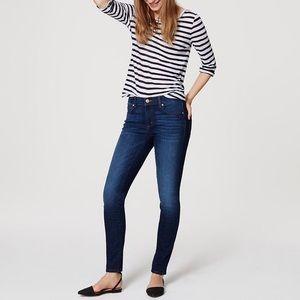 Loft Modern Skinny Jeans Size 8 Petite